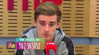 Gala Inocente 2016 Broma Antoine Griezmann jugador Atlético de Madrid