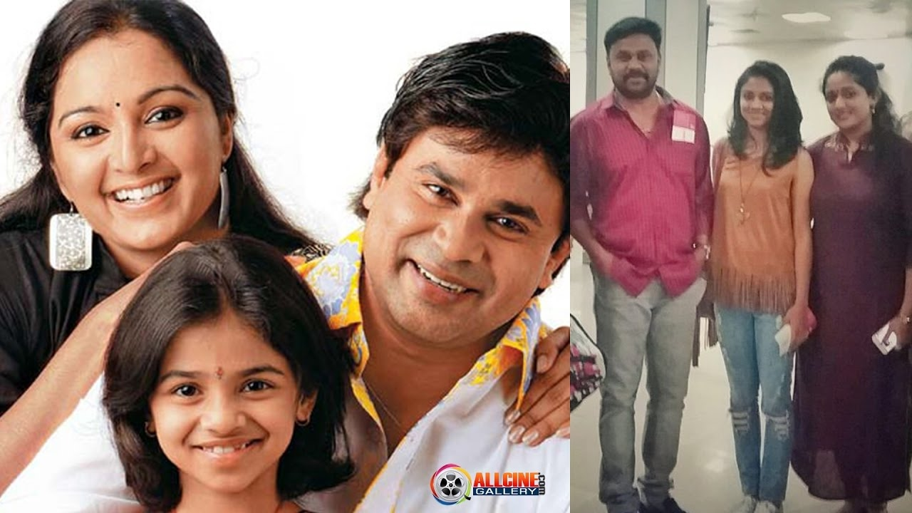 Actor Dileep Family Photos With Wife Manju Warrier, Kavya -6761