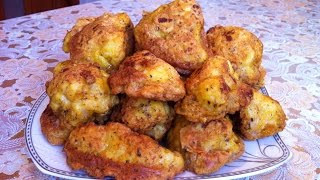 Цветная Капуста в Кляре / Fried Cauliflower in Batter / Очень Простой Рецепт (Вкусно и Быстро)