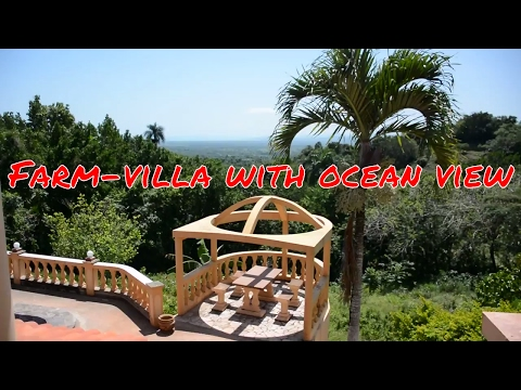 illa for sale in Domincan Republic with nice ocean view, 20 min. from Sabaneta