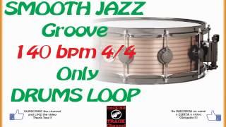 Smooth jazz DRUMS LOOP 140 bpm