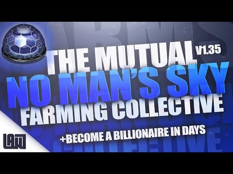 The Farming Collective || Become a Billionaire in Days || No Man's Sky v1.35 PS4