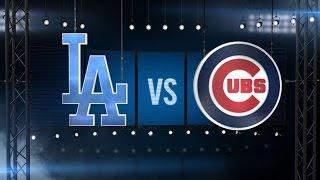 10/16/16: Kershaw, Jansen shut out Cubs in Game 2 win