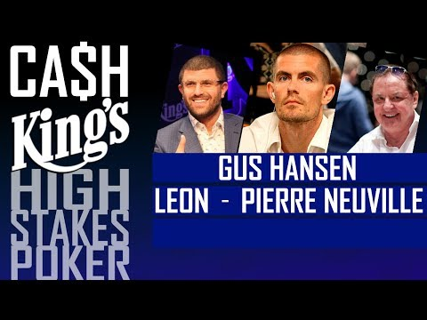 Ca$hKing$ - NLH Blinds €100/€200 Gus Hansen