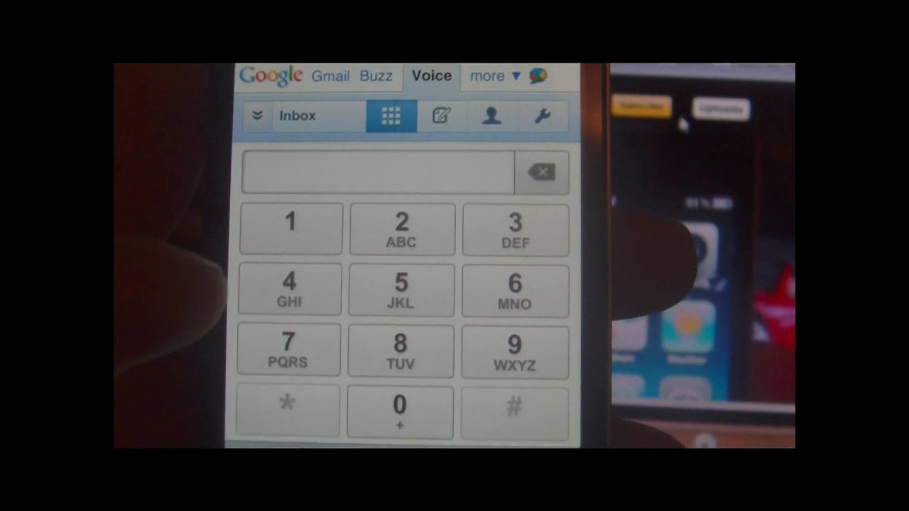 iPhone 4 with Google Voice!! NEW!!