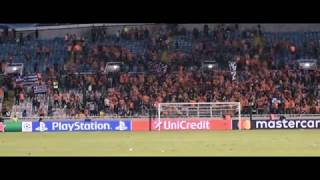APOEL ULTRAS singing for 1 HOUR after the END OF THE MATCH