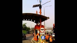 solar street light combine with wind turbine