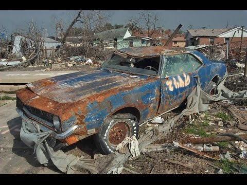 Abandoned Muscle Cars In America 2016. Old abandoned drag and rare cars in junkyard.