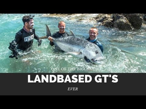 Monster land based GT fishing - No Boundaries Oman