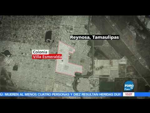 Enfrentamientos en Reynosa, Tamaulipas, dejan 15 muertos