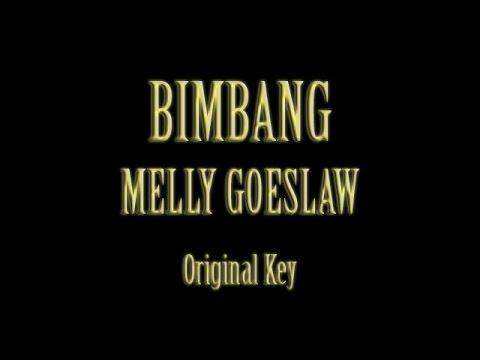 Bimbang Melly Goeslaw Karaoke Original Key
