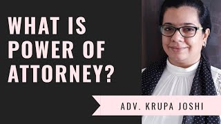 What is power of attorney in Hindi revocable irrovacable durable
