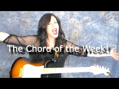 Chord of the week A Minor