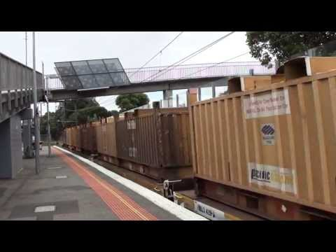 Freight trains around Melbourne