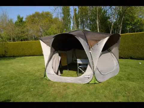 tent quechua base seconds xl youtube