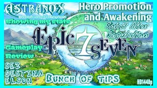 EPIC SEVEN Hero Promotion & Awaken, Urgent Mission Bounty Quest, Spirit Altar - Epic 7 Tips F2P