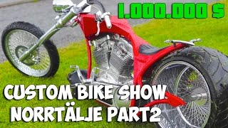 Custom Bike Show Norrtälje 2 june 2012 Part 2