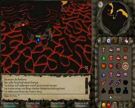 Uaex On Fire lvl 40 combat fire cape