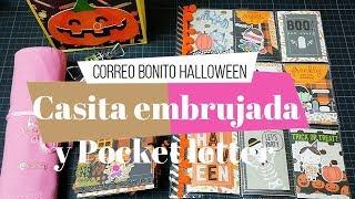 Correo Bonito y proceso creativo de Halloween   Pocket letter   Yoltzin handmade