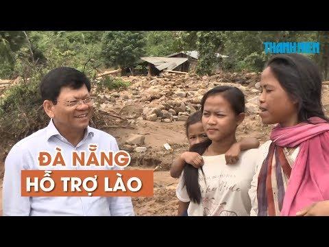 Đà Nẵng hỗ trợ Lào 100000 USD khắc phục hậu quả vỡ đập thủy điện