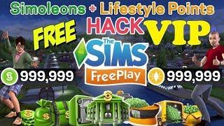 The Sims FreePlay Cheat Infinite VIP, Simoleons, LP - New Hack 2019 100% Work