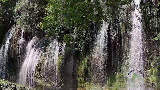 Relaxing SLEEP video.  Waterfalls, sounds of nature.  Get to sleep easy.