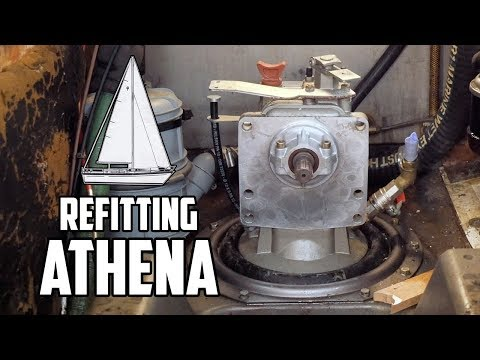 Sail Life - Removing the my Volvo Penta d2-40 engine and the diesel tank - DIY sailboat repair