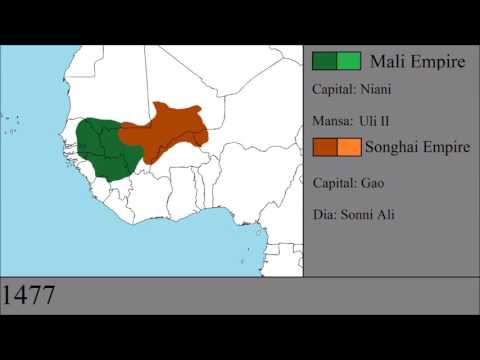 The History of the Mali and Songhai Empires: Every Year
