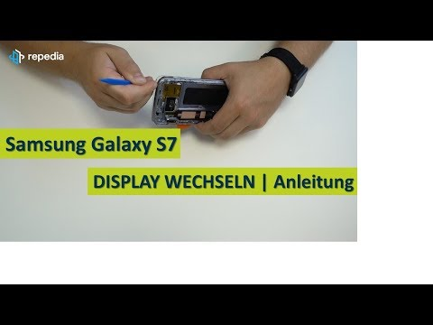 Samsung Galaxy S7 - Display Selbst Wechseln / Reparatur Anleitung   Tutorial [deutsch]