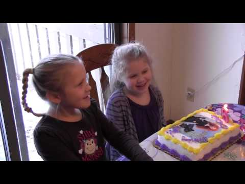 Happy Birthday Hailey ... Cha, Cha, Cha