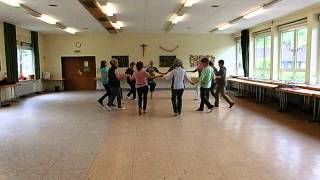 Seniorentanz israelisch Hora Hadera Seniors dancing