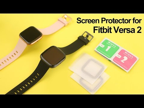 Fitbit Versa 2 Review - Full Coverage 3D Screen Protector by CAVN
