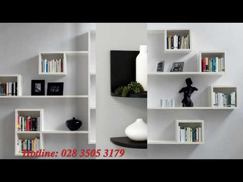 giá gỗ trang trí nội thất