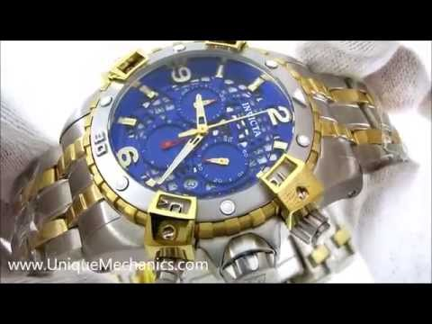 Invicta 1230 Watch Review Steel Chronograp Two-Tone Mens