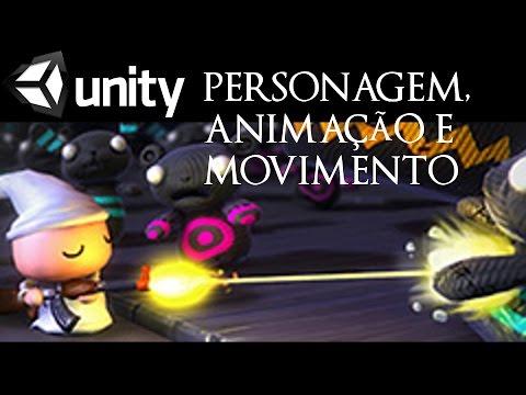 Unity3D - Como criar personagem, animacao e movimento - Nightmare - Unity Training Day 2014 #02