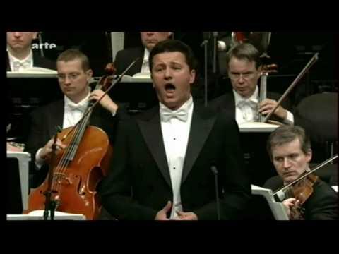 "Piotr Beczala  - "" Werther: Pourquoi me réveiller"""