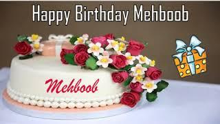 Happy Birthday Mehboob Image Wishes✔
