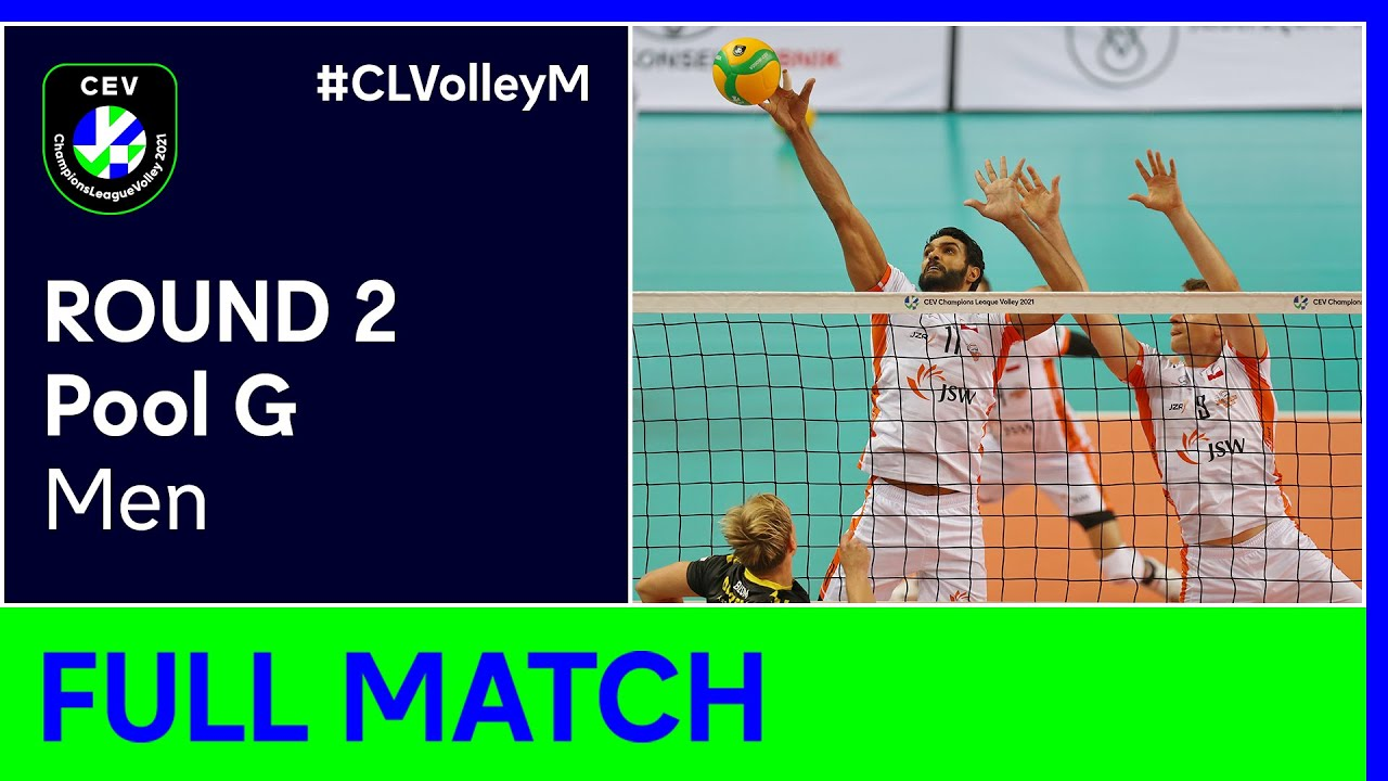 JASTRZEBSKI Wegiel vs. C.S.M. Arcada GALATI - CEV Champions League Volley 2021 Men Round 2