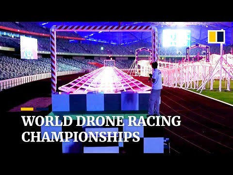 15-year-old pilot wins World Drone Racing Championships in Shenzhen, China