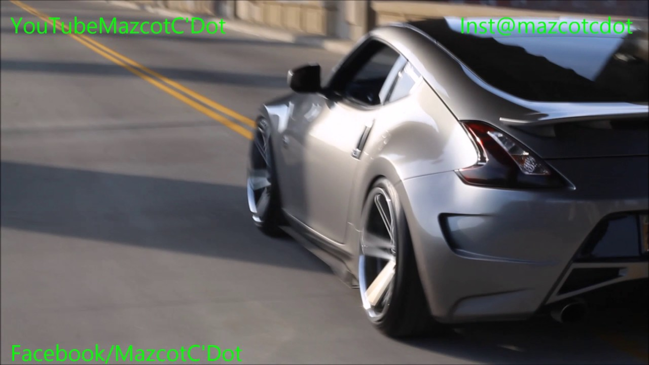 CLEAN Nissan 370z Amuse Body Kit! Nissan 370Z Exhaust ...
