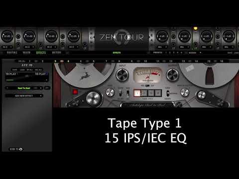 FPGA FX | Reel To Reel Tape Machine - Demo