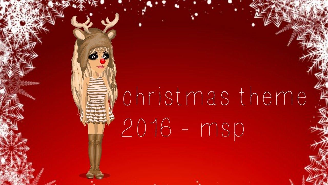 christmas theme 2016 msp youtube