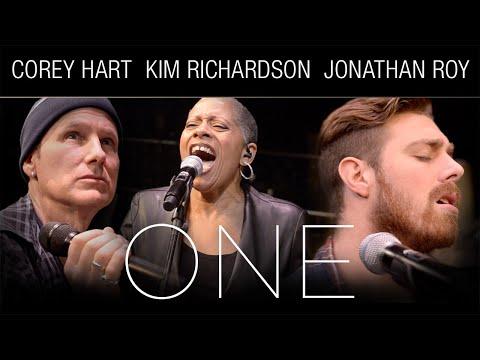 "Corey Hart, Kim Richardson, and Jonathan Roy - ""One"" (live acoustic rehearsal)"