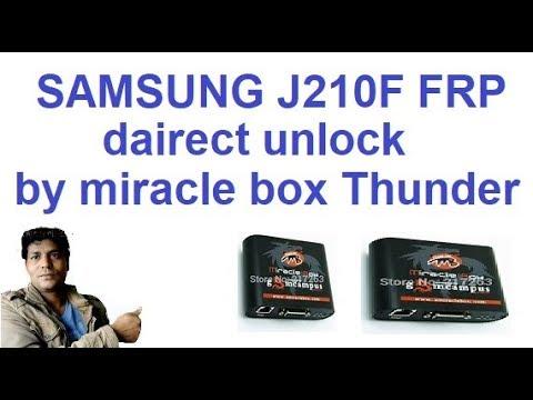 samsung j2 6/j2pro/j210f frp unlock by/miracle box/thunder