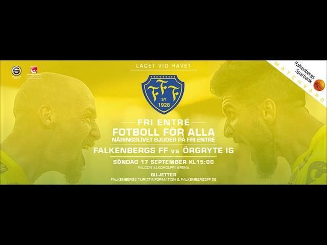 Näringslivet bjuder på fritt inträde, Falkenbergs FF   Örgryte IS