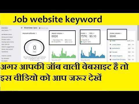 Job Website Keyword Research, Low Competition Niches 2020, Low Competition Keywords With High Cpc
