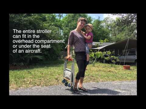 Handmade Baby Stroller – WindFire Designs – Tim Elverston