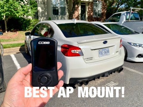 Best Accessport Mount for your WRX/STI!