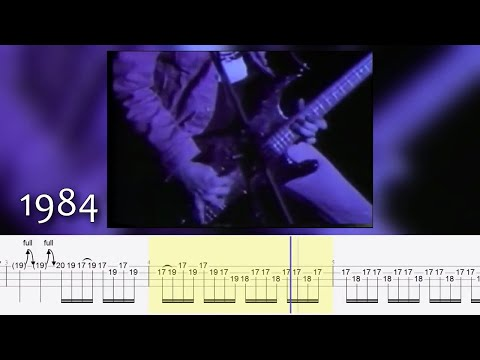 Craziest Cliff Burton's Live Bass Solos W/ TABS #TotalCliff