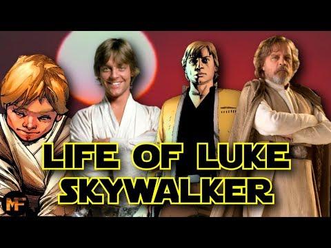 The Life of Luke Skywalker  Entire Timeline Explained (Star Wars)